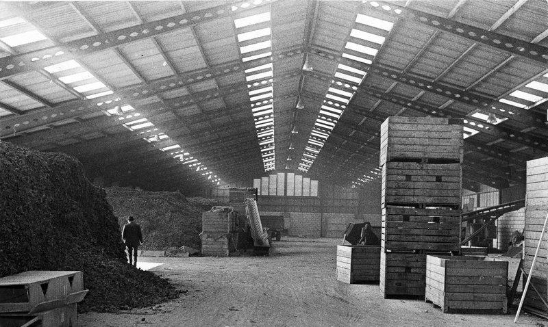 1958 – Bouw van de opslag faciliteiten.